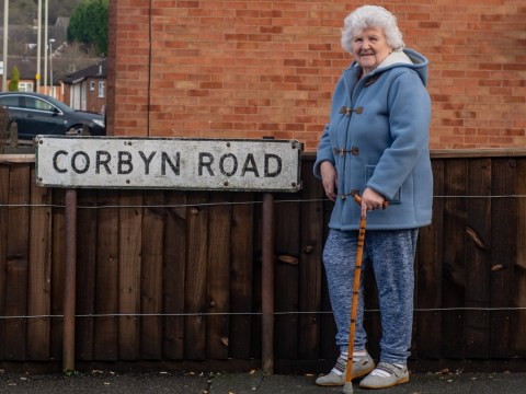 Residents of Corbyn Road want its name changed after seat swings to the Tories