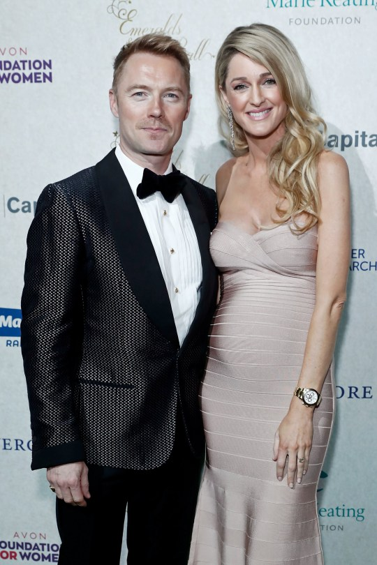 LONDON, ENGLAND - DECEMBER 14: Ronan Keating and Storm Keating attend the 13th annual Emeralds & Ivy Ball in partnership with Cancer Research UK and The Marie Keating Foundation at Old Billingsgate on December 14, 2019 in London, England. (Photo by David M. Benett/Dave Benett/Getty Images)