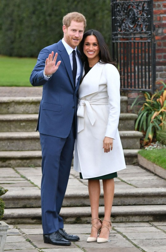REVIEW OF THE DECADE - ROYAL File photo dated 27/11/17 of Prince Harry and Meghan Markle in the Sunken Garden at Kensington Palace, London, after the announcement of their engagement. PA Photo. Issue date: Sunday December 15, 2019. See PA story XMAS Decade. Photo credit should read: Dominic Lipinski/PA Wire