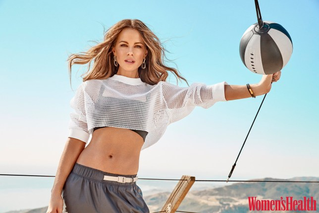 Kate Beckinsale Covers January/February Issue of Women?s Health
