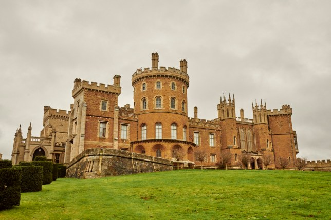 Belvoir castle which feature in The Crown