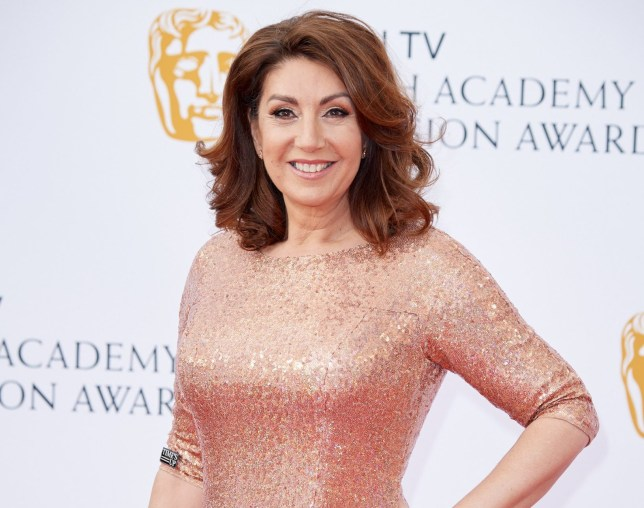 LONDON, ENGLAND - MAY 13: Jane McDonald attends the Virgin TV British Academy Television Awards at The Royal Festival Hall on May 13, 2018 in London, England. (Photo by Jeff Spicer/Getty Images)