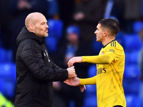 Lucas Torreira shares touching moment with Freddie Ljungberg after Arsenal's clash with Everton