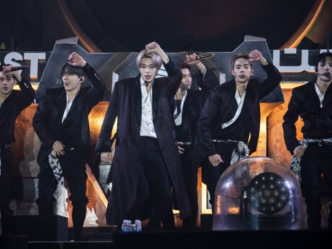 Monsta X pull out their best synchronised moves as they put on an incredible light show at MDL Beast Festival