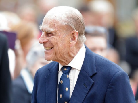 Prince Philip spends third night in hospital after Queen attends church without him