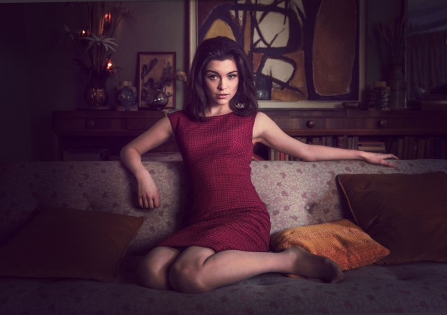 For use in UK, Ireland or Benelux countries only Undated BBC handout photo of actress Sophie Cookson as Christine Keeler in the new drama about the Profumo affair. PA Photo. Issue date: Sunday December 29, 2019. The six-part series, The Trial Of Christine Keeler, features Kingsman actress Cookson as the model at the centre of one of the UK's biggest scandals of the 20th century. See PA story SHOWBIZ Keeler. Photo credit should read: BBC/BBC/PA Wire NOTE TO EDITORS: Not for use more than 21 days after issue. You may use this picture without charge only for the purpose of publicising or reporting on current BBC programming, personnel or other BBC output or activity within 21 days of issue. Any use after that time MUST be cleared through BBC Picture Publicity. Please credit the image to the BBC and any named photographer or independent programme maker, as described in the caption.