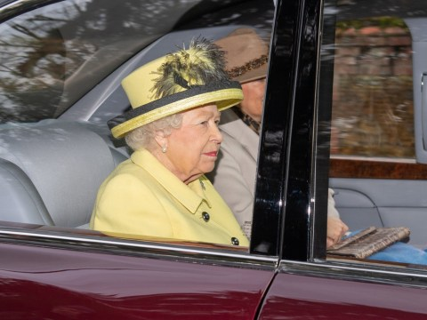 Queen arrives at Sandringham church service without Prince Andrew
