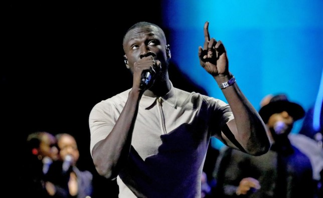 LONDON, ENGLAND - DECEMBER 13: Stormzy performs at the 2019 Global Citizen Prize at the Royal Albert Hall on December 13, 2019 in London, England. (Photo by Tristan Fewings/Getty Images for Global Citizen)