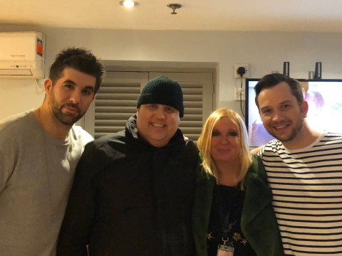 Peter Kay in high spirits as he's photographed for first time in eight months at panto