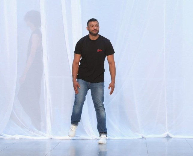 LONDON, ENGLAND - JUNE 09: Designer Khalid Al Qasimi on the runway at the Qasimi show during London Fashion Week Men's June 2018 at 11 Floral Street on June 9, 2018 in London, England. (Photo by Tristan Fewings/BFC/Getty Images)