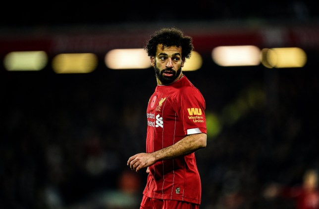 Mohamed Salah starts on the bench for Liverpool's clash with Everton