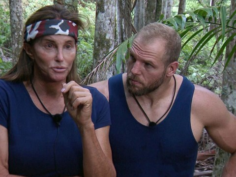 I'm A Celebrity fans finally 'forgive' James Haskell for bullying claims after he greets Caitlyn Jenner in jungle