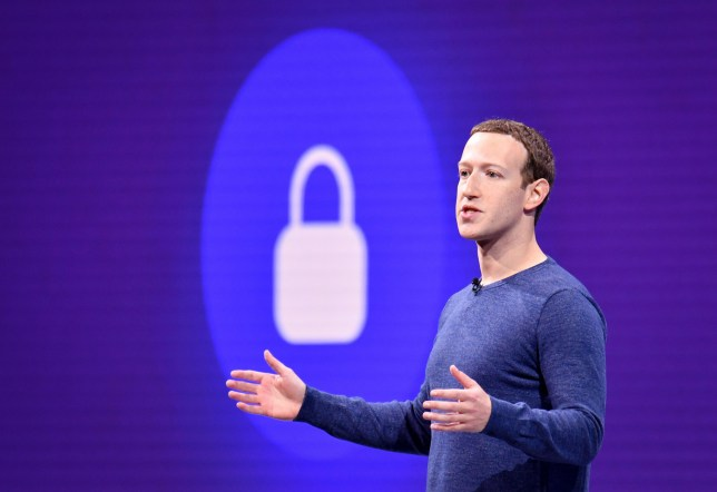 """(FILES) In this file photo taken on May 1, 2018 Facebook CEO Mark Zuckerberg speaks during the annual F8 summit at the San Jose McEnery Convention Center in San Jose, California. - Facebook is leaping into the world of cryptocurrency with its own digital money, designed to let people save, send or spend money as easily as firing off text messages.""""Libra"""" -- described as """"a new global currency"""" -- was unveiled June 18, 2019 in a new initiative in payments for the world's biggest social network with the potential to bring crypto-money out of the shadows and into the mainstream. Facebook and an array of partners released a prototype of Libra as an open source code to be used by developers interested in weaving it into apps, services or businesses ahead of a rollout as global digital money next year. (Photo by JOSH EDELSON / AFP)JOSH EDELSON/AFP/Getty Images"""