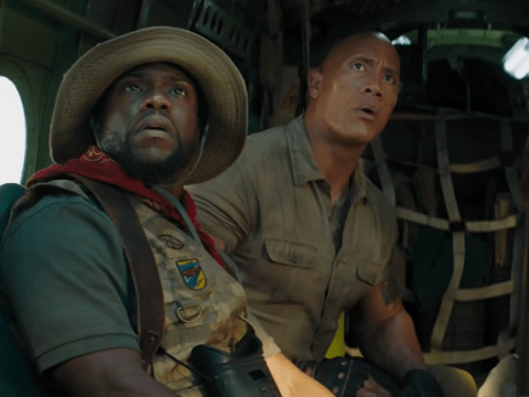 Jumanji: The Next Level sees squabbling Dwayne Johnson and Kevin Hart shine in action-packed sequel