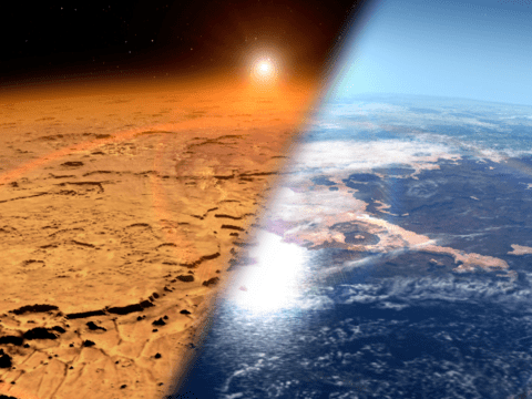 Nasa spots aurora on Mars which shows why it can no longer support alien life