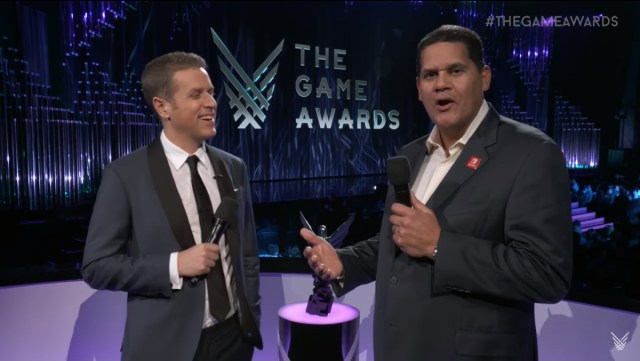 Reggie Fils-Aime at The Game Awards 2017