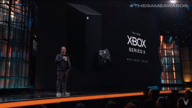 The Game Awards Xbox Series X reveal