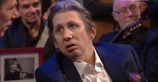 Shane MacGowan on The Late Late Show