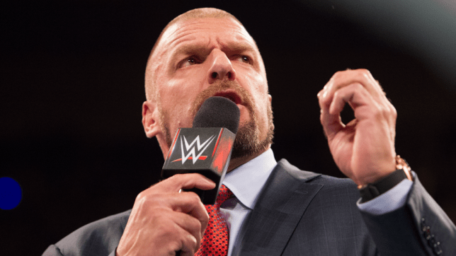 Triple H addresses the WWE fans