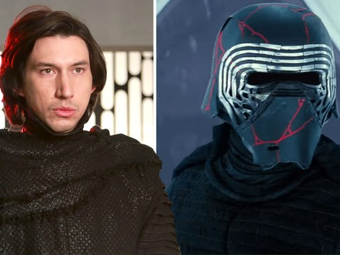 Adam Driver discusses the significance of Kylo Ren's helmet in Star Wars: The Rise of Skywalker