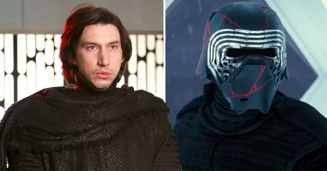 Adam Driver On Kylo Ren S Helmet In Star Wars The Rise Of Skywalker Metro News