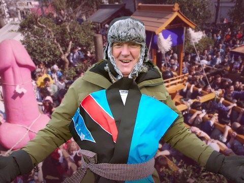 James May injured carrying enormous phallus during 'riotous party' at Japan's Penis Festival filming solo Amazon Prime series