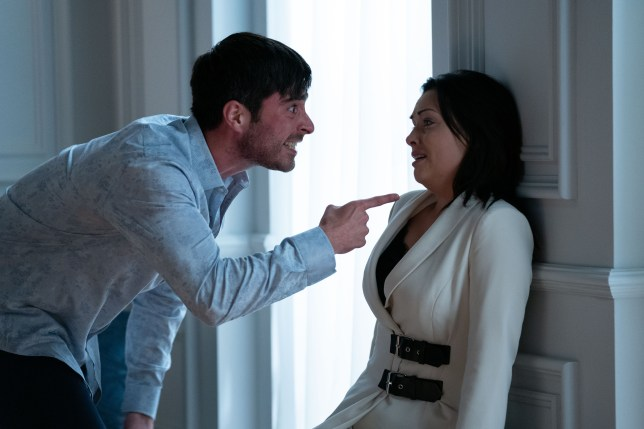 Leo King and Whitney Dean in EastEnders