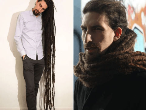 Man who hasn't cut his floor-length hair in 20 years plans to chop it all off for charity