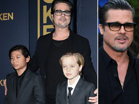 Brad Pitt spending 'first Christmas with kids without monitor' after Angelina Jolie divorce