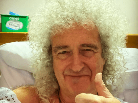 Queen's Brian May 'feeling good' after undergoing 'painful' leg surgery