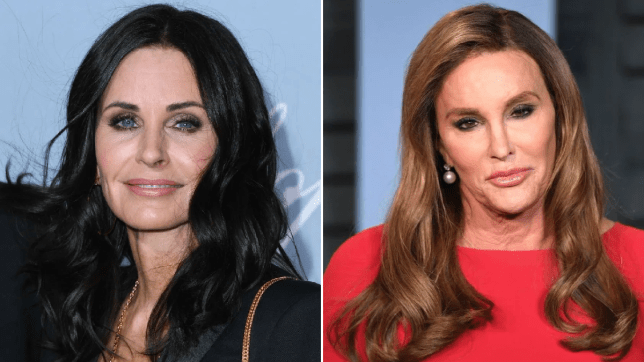 Courteney Cox admits she looks like Caitlyn Jenner and Jennifer Aniston is highly entertained