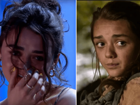 Maisie Williams cringes at old Game Of Thrones video and you can't help but feel for her