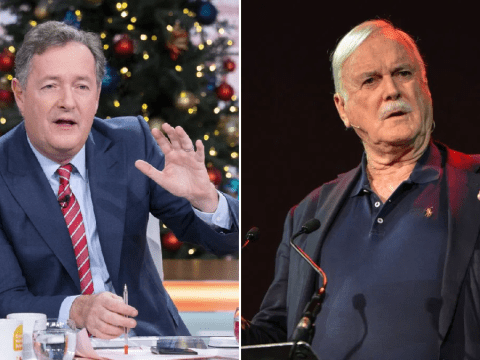 Piers Morgan offers to 'make sure John Cleese leaves the country' as he stokes feud