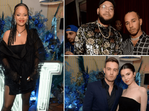 Inside Rihanna's wild Fenty party as Lewis Hamilton and Mick Jagger mingle with fashion royalty at swanky bash