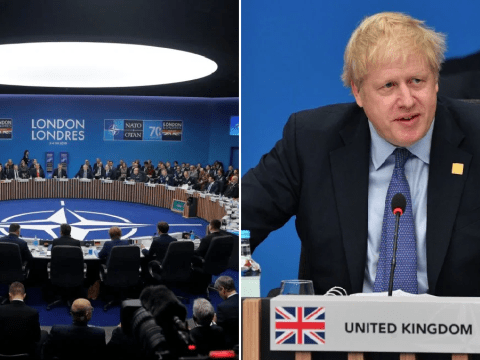 Boris Johnson urges Nato unity after Trump and Macron clash