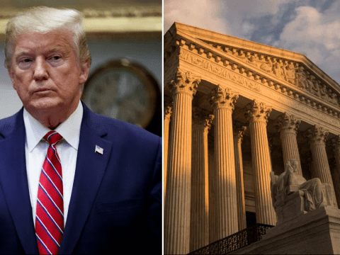Donald Trump makes last-ditch Supreme Court appeal to keep his taxes secret