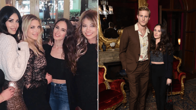Alexander Ludwig and co-star girlfriend reunite with Vikings cast to celebrate season 6 premiere