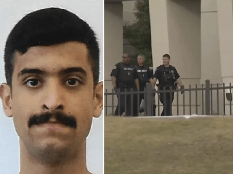 Saudi Naval base gunman went on killing spree after being teased about his 'porn stache'