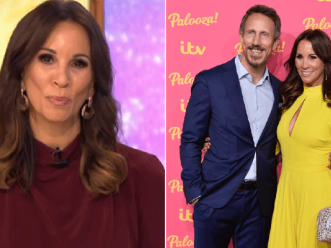 Andrea McLean reveals 'bumpy year' led her to couples counselling with husband Nick Feeney