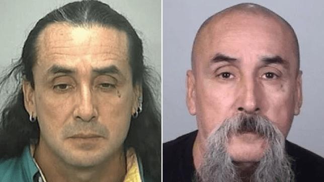 Older mugshot of Anthony Daycana next to newer mugshot