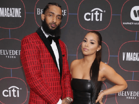 Nipsey Hussle's girlfriend Lauren London pays heartfelt tribute to late rapper in emotional campaign