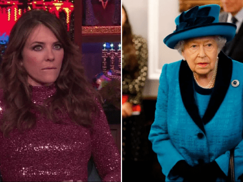 Liz Hurley claims she and the Queen share the same stalker