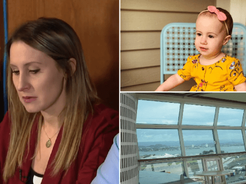 Sobbing mother of toddler who fell to death from cruise ship says 'I spend my evenings with her urn'