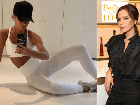 Victoria Beckham channels inner Sporty Spice with early-morning workout and we're tired just watching her
