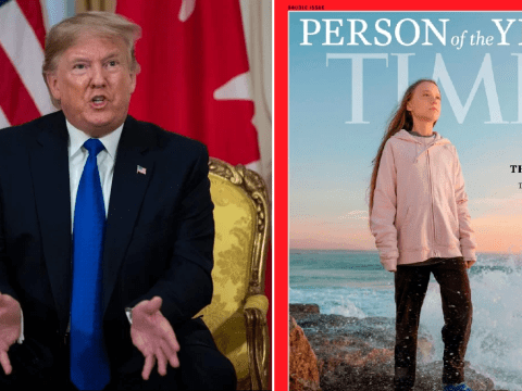 Donald Trump, 73, tells Greta Thunberg, 16, to 'chill!' and work on her 'anger management problem'