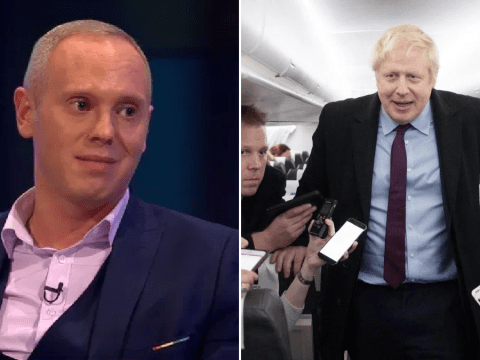 Judge Rinder has quite the risque comparison to everyone's exit poll reaction