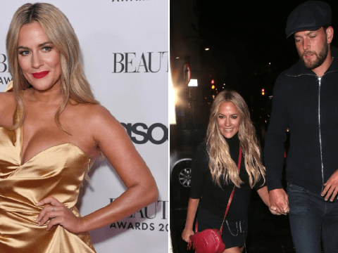 Caroline Flack's boyfriend Lewis Burton claims he was 'normal' until they met as she's arrested and charged with assault