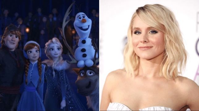 Kristen Bell compares Frozen 2 to cake and we totally get it