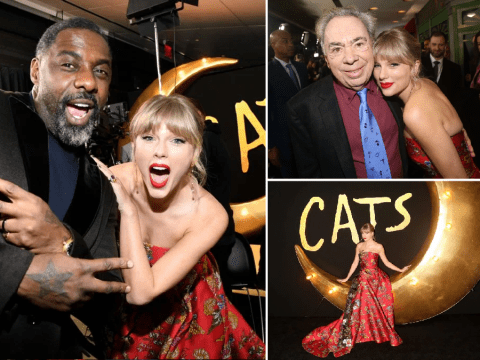 Taylor Swift lives dream at Cats premiere as first reviews roll in: 'It's bewildering'
