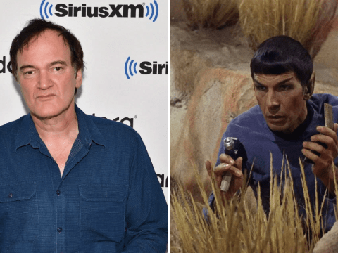 Quentin Tarantino is having second thoughts about making Star Trek movie